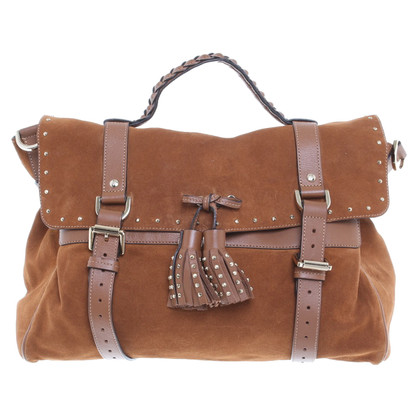 "Mulberry ""Tassel Shoulder Bag"" in ochre"