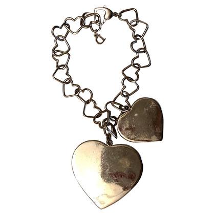 Christian Dior bracciale in metallo