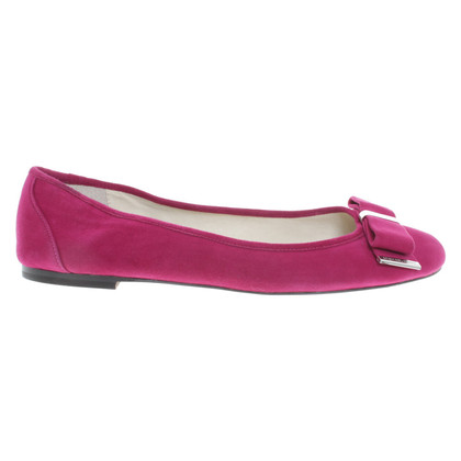 Michael Kors Ballerinas in Fuchsia