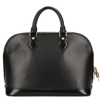 Louis Vuitton « Cuir Alma PM Epi » en noir