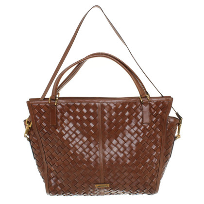 Burberry Handbag woven leather