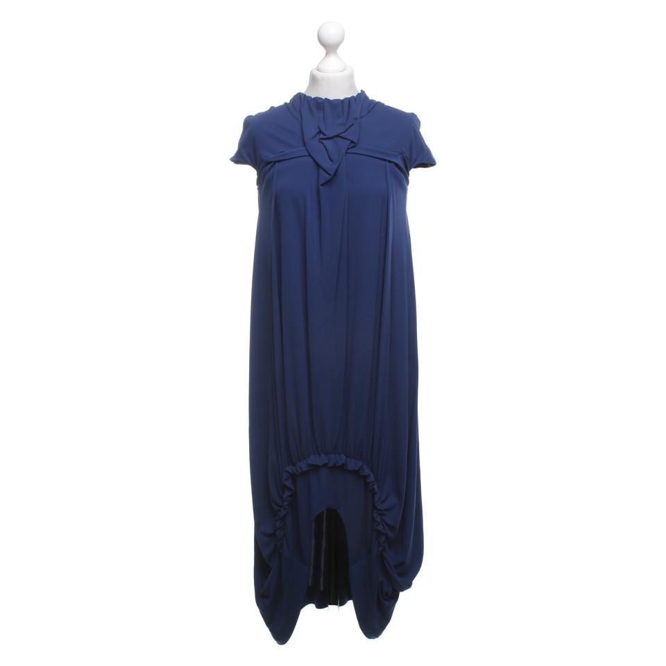 yves saint laurent robe en bleu acheter yves saint laurent robe en bleu second hand d 39 occasion. Black Bedroom Furniture Sets. Home Design Ideas