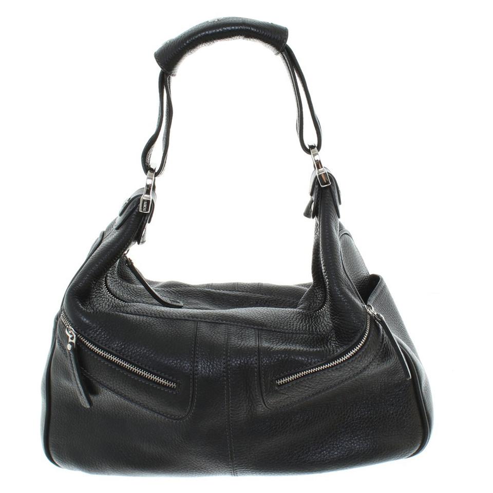 tod 39 s handtasche in schwarz second hand tod 39 s handtasche in schwarz gebraucht kaufen f r 430. Black Bedroom Furniture Sets. Home Design Ideas