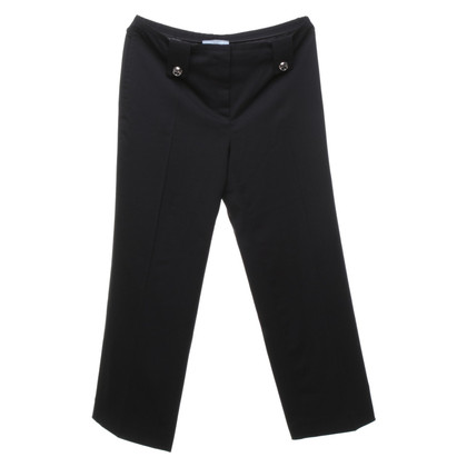 Prada trousers in black