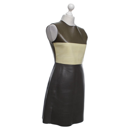 Céline Leather dress