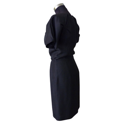 Aquascutum Silk dress in black