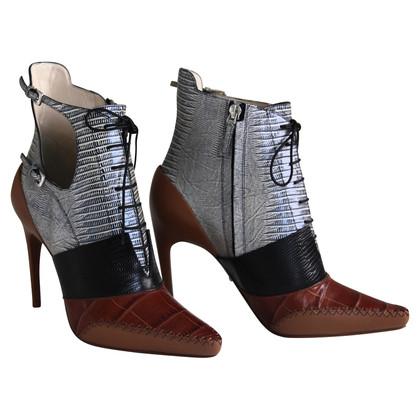 Christian Dior Enkellaars van materiaal mix