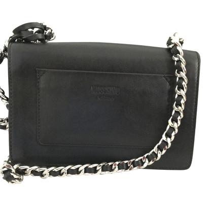 Moschino Moschino Logo Chain Crossbody Bag