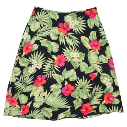 Ralph Lauren Silk skirt with pattern