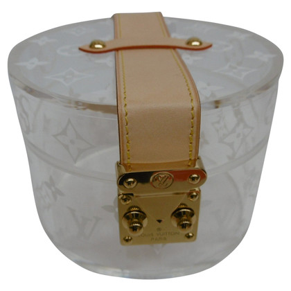 Louis Vuitton Jewelry box with monogram pattern