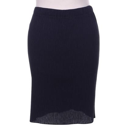 Issey Miyake Eggplant-colored skirt