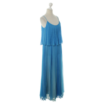 Halston Heritage Maxi dress in blue