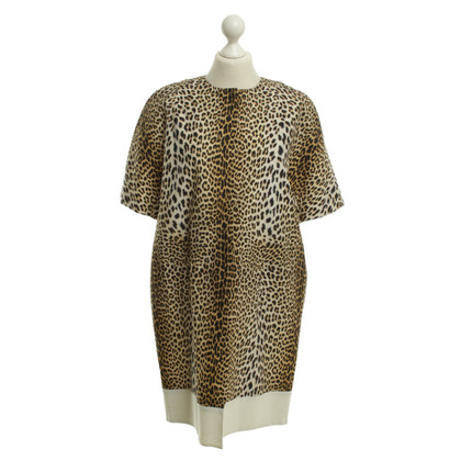 Giambattista Valli Coat with Leo print
