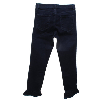 J Brand trousers in dark blue