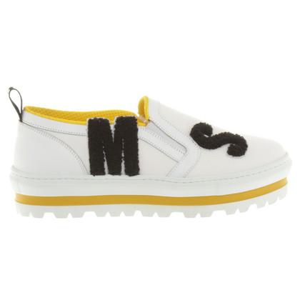 MSGM Plateau-Sneakers in bianco