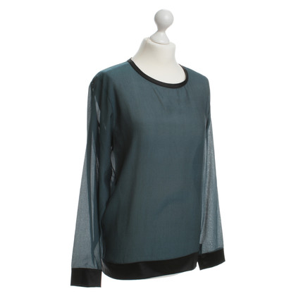 Helmut Lang Bluse in Petrol