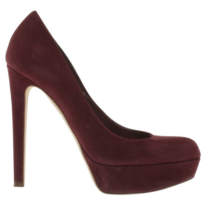 Christian Dior pumps a Bordeaux