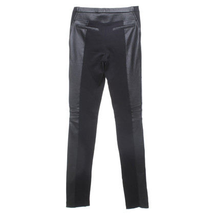 BCBG Max Azria trousers in leather look