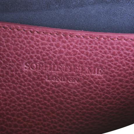 Verkauf Genießen Spielraum Breite Palette Von Sophie Hulme Clutch in Fuchsia Fuchsia TqWlWN