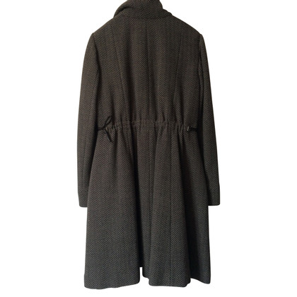 Giorgio Armani Padded winter coat in wool