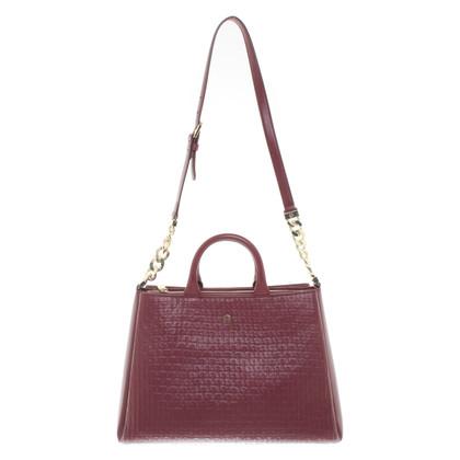 Aigner Handbag in Bordeaux