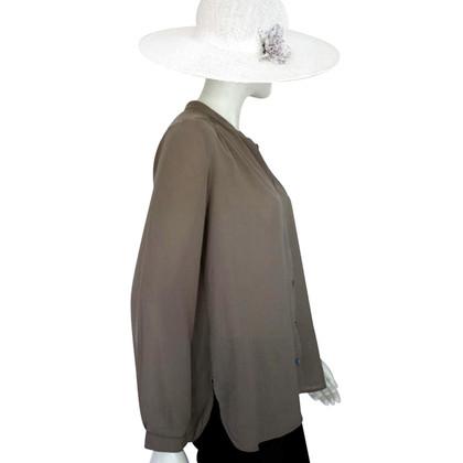 Filippa K Khaki blouse