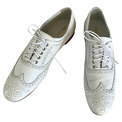 Prada Lace-up shoes in white
