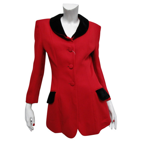551bbb567b Moschino Cheap and Chic Jacket/Coat Wool in Red - Second Hand ...