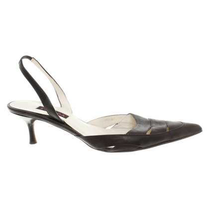 Escada Sandals in Brown