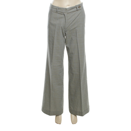 Turnover trousers in grey