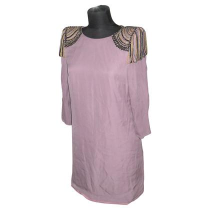 Tibi Silk dress with applications
