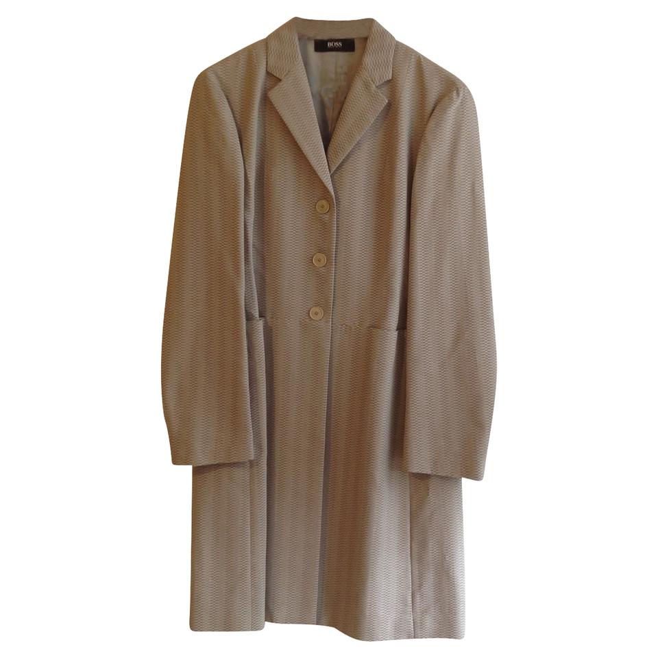 hugo boss mantel mit muster second hand hugo boss mantel mit muster gebraucht kaufen f r 109. Black Bedroom Furniture Sets. Home Design Ideas