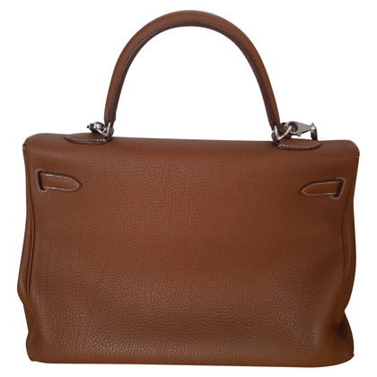 "Hermès ""Kelly Bag 35 Retourné Togo Leather"""