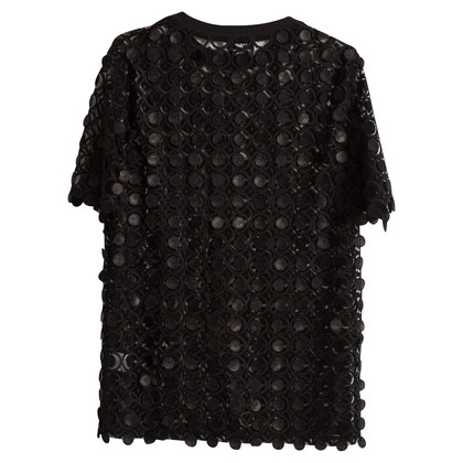 Carven Top met pailletten Details