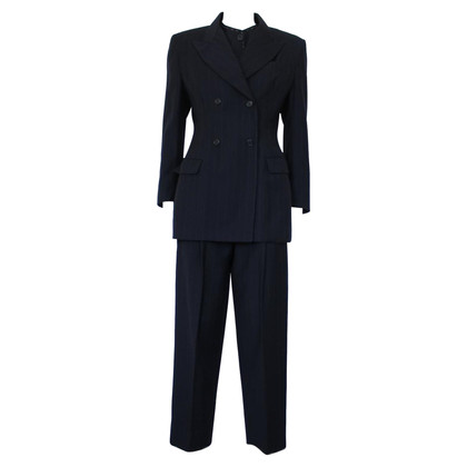 Dolce & Gabbana Pinstriped vintage suit
