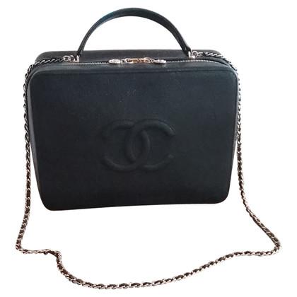 """Chanel """"Jumbo Vanity Bag"""" van kaviaar leder"""