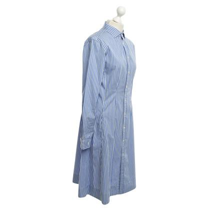 Polo Ralph Lauren Hemdblusenkleid con strisce
