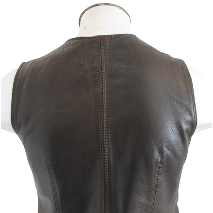 Céline Leather vest