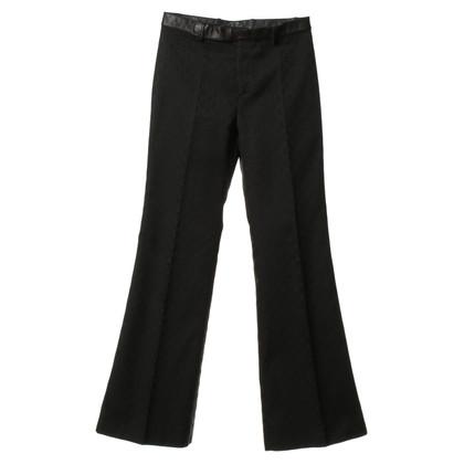 Gucci Bügelfaltenhose in Schwarz