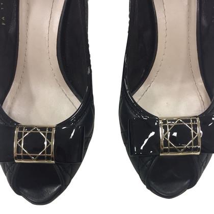 Christian Dior peeptoes