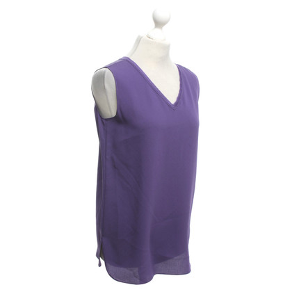 Iris von Arnim Top in seta viola