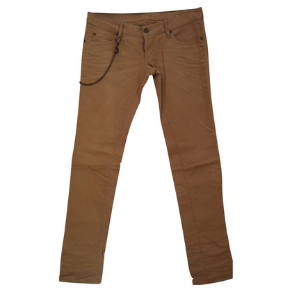 Dsquared2 Beigefarbene Jeans