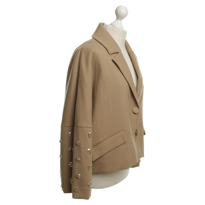 Manoush Oversized blazer in beige