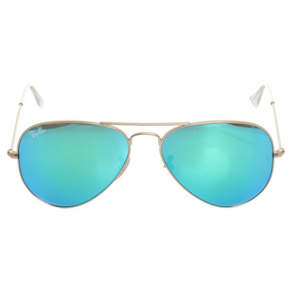 "Ray Ban Zonnebril ""Aviator"" in goud"
