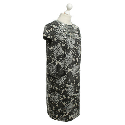 Twin-Set Simona Barbieri Dress with print in gray