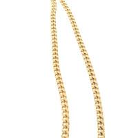 Gianni Versace Lacklederhandtasche in Gelb