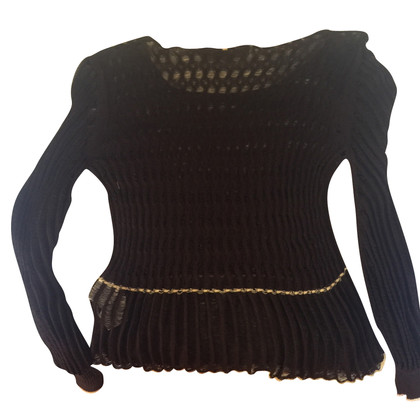 Sport Max Knitted silk top