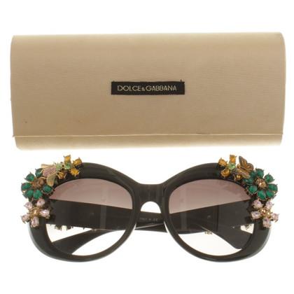 Dolce & Gabbana Sonnenbrille mit Applikationen