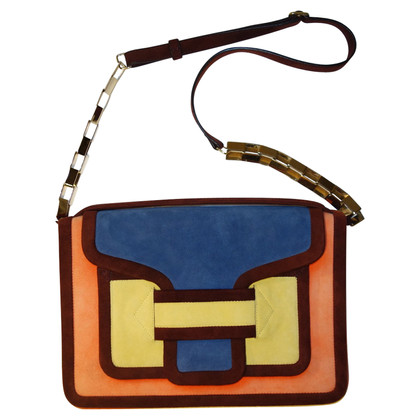 Pierre Hardy Shoulder bag with color-blocking