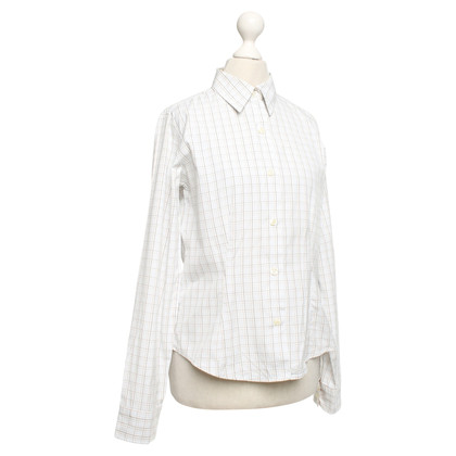 Barbour Blouse with plaid pattern